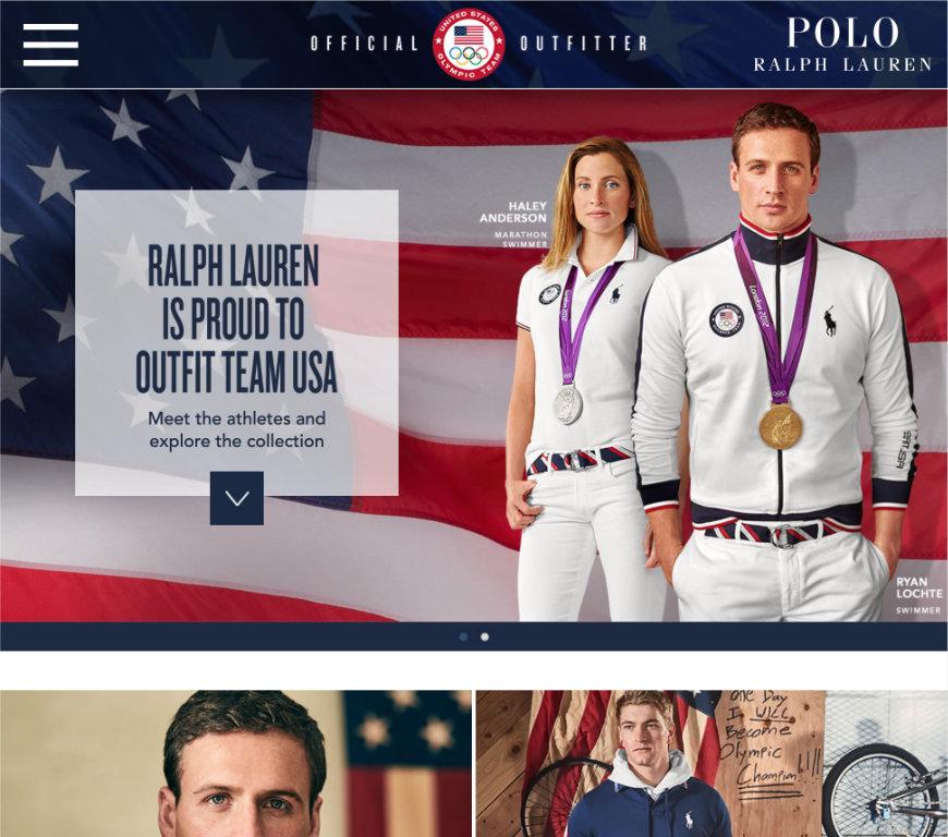 Polo Olympics Microsite